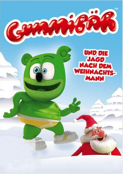 Filmplakat Gummibär -Auf der Jagd nach dem Weihnachtsmann