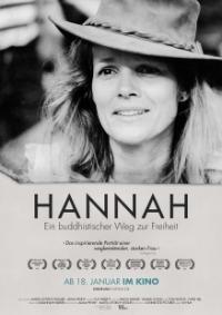 Filmplakat HANNAH - Ein buddhistischer Weg zur Freiheit