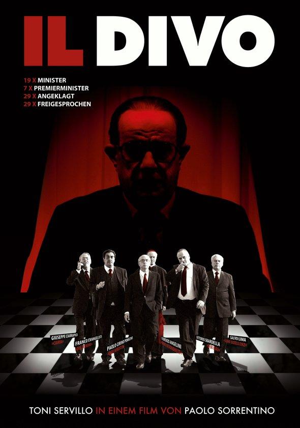 Filmplakat Il Divo - Der Göttliche - ital. OmU