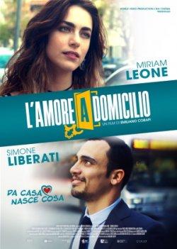 Filmplakat L'amore a domicilio - Liebe unter Hausarrest - ital. OmU