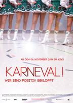 Filmplakat Karneval! Wir sind positiv bekloppt