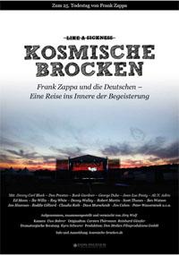Filmplakat Kosmische Brocken - Frank Zappa und die Deutschen
