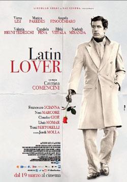 Filmplakat LATIN LOVER - ital. OmU