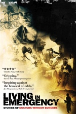 Filmplakat Living in Emergency