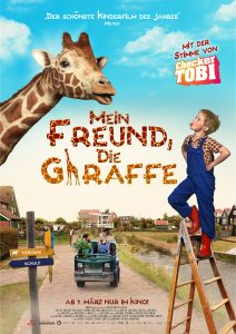 Filmplakat Mein Freund, die Giraffe