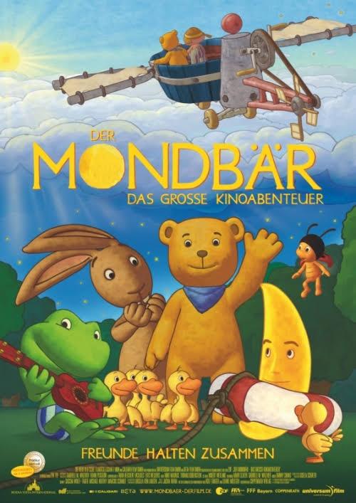 Filmplakat Der Mondbär - das große Kinoabenteuer