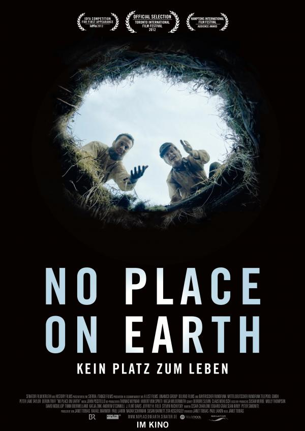 Filmplakat No Place on Earth