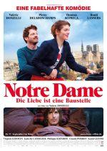 Filmplakat Notre Dame – Die Liebe ist eine Baustelle