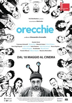 Filmplakat Ohrensausen - Orecchie - ital OmU