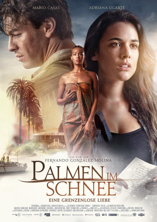 Filmplakat Palmen im Schnee - PALMERAS EN LA NIEVE - span. OmU