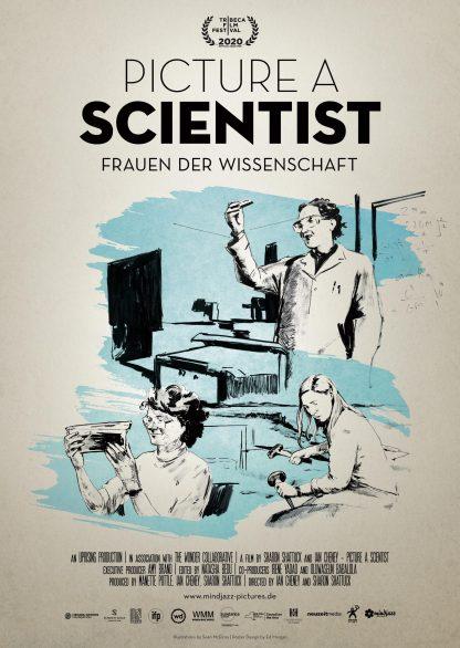 Filmplakat PICTURE A SCIENTIST - Frauen der Wissenschaft