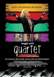 Filmplakat Quartet - engl OmU