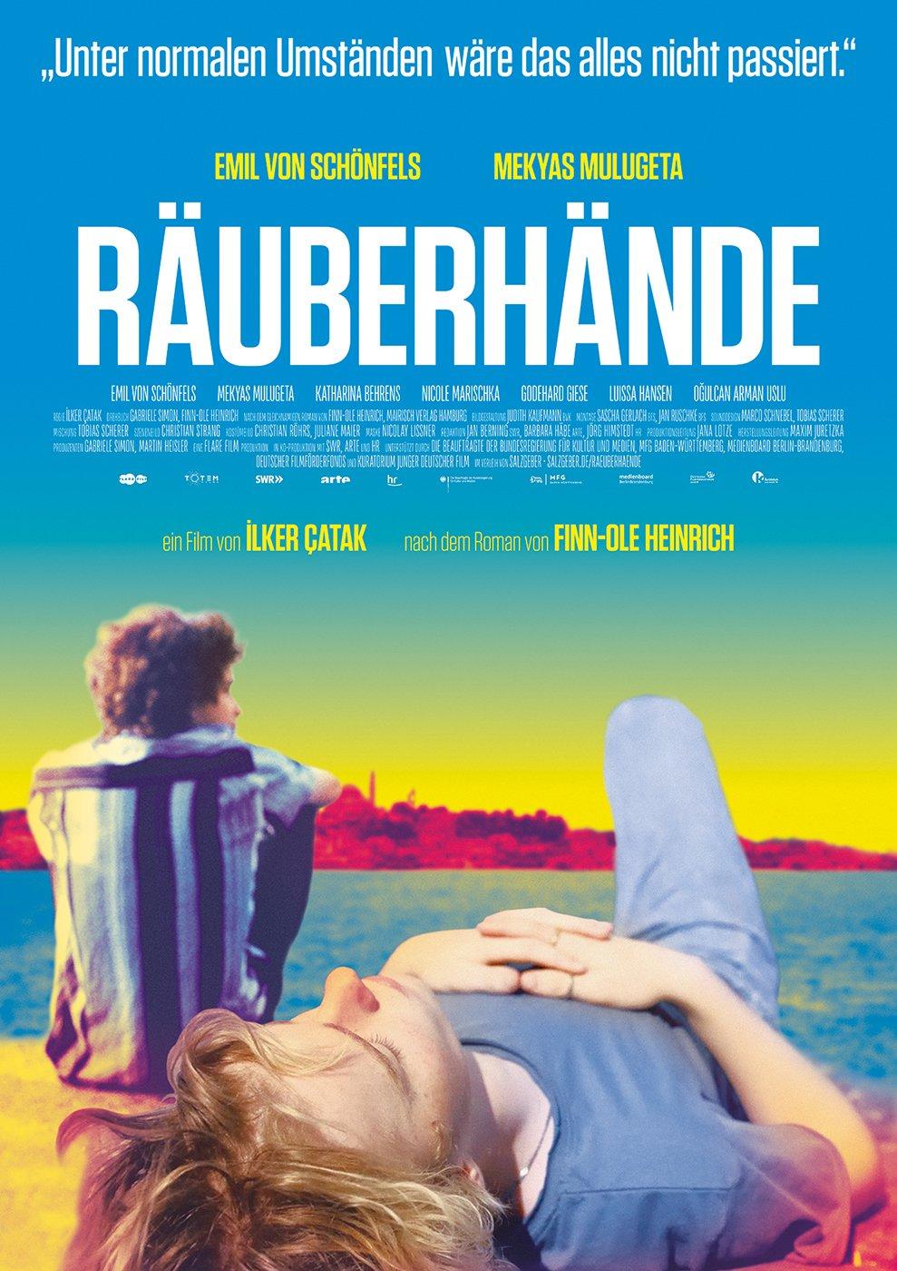 Filmplakat RÄUBERHÄNDE