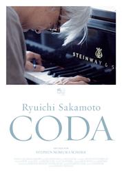Filmplakat RYUICHI SAKAMOTO: CODA