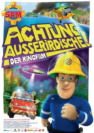 Filmplakat Feuerwehrman Sam - Achtung Ausserirdische