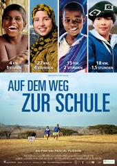 Filmplakat Auf dem Weg zur Schule