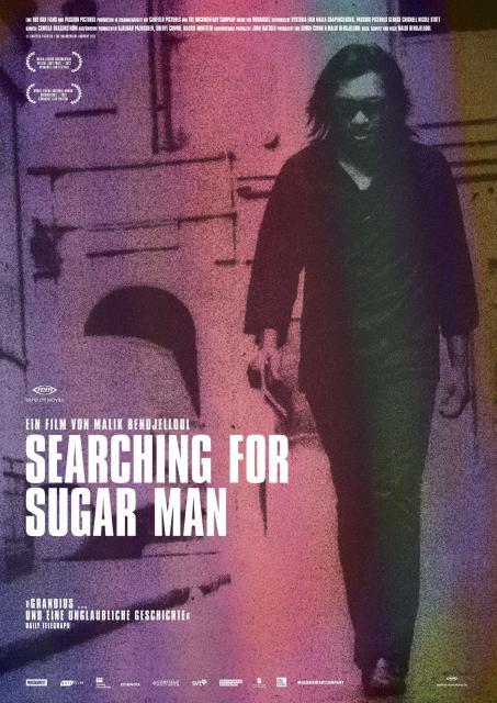Filmplakat SEARCHING FOR SUGAR MAN - engl OmU