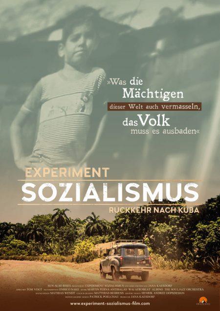 Filmplakat Experiment Sozialismus – Rückkehr nach Kuba