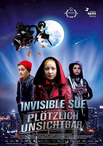 Filmplakat Invisible Sue - Plötzlich unsichtbar