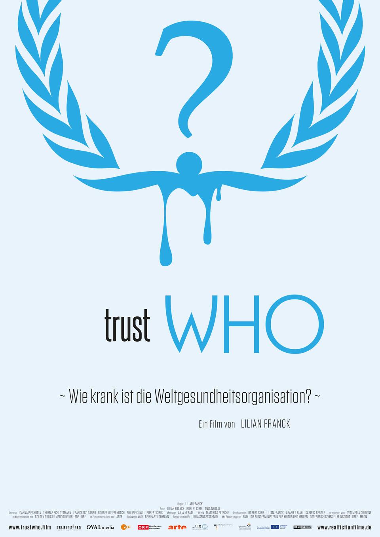 Filmplakat trustWHO