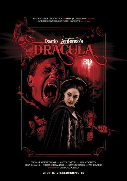 Filmplakat Dario Argentos Dracula -engl. OmU