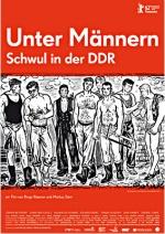 Filmplakat Unter Männern - Schwul in der DDR