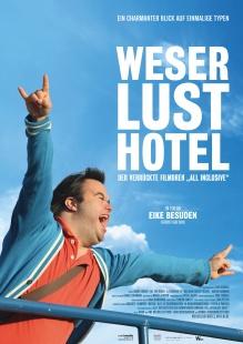 Filmplakat Weserlust Hotel - Der verrückte Filmdreh