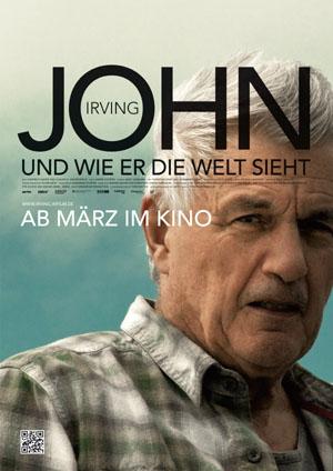 Filmplakat John Irving und wie er die Welt sieht