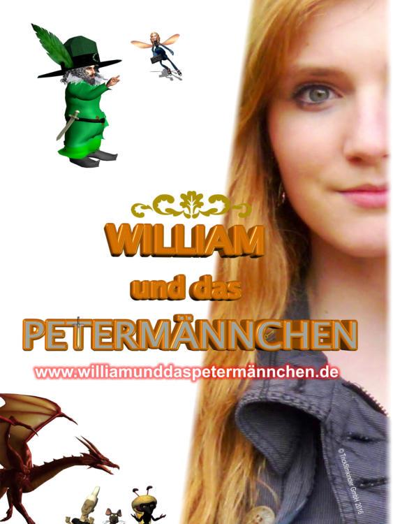 Filmplakat William und das Petermännchen